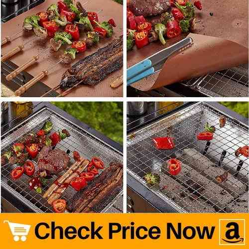 9. Aquablessing Copper Grill Mat