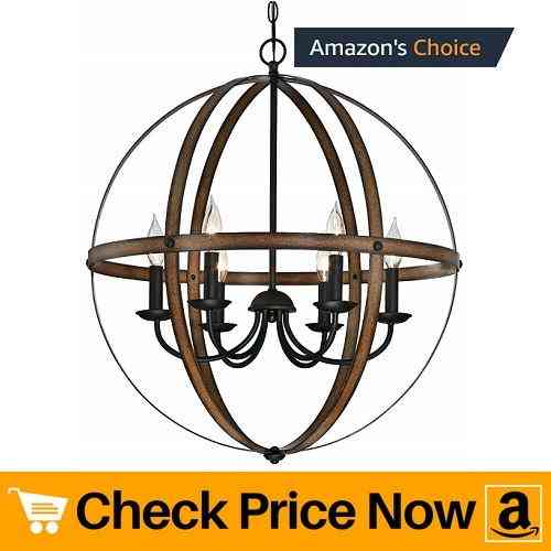 Westinghouse 6333600 Stella Mira Six-Light Indoor Chandelier
