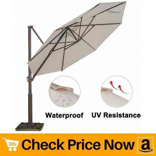 Abba Patio Offset Cantilever Umbrella 11-Feet