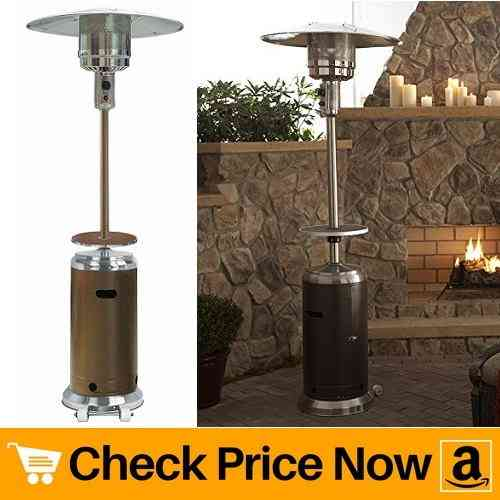 AZ Patio Heaters HLDS01-SSHGT Tall Stainless Steel