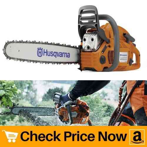 Husqvarna 455 Rancher 20-Inch 55-1:2cc 2-Stroke Gas-Powered Chain Saw