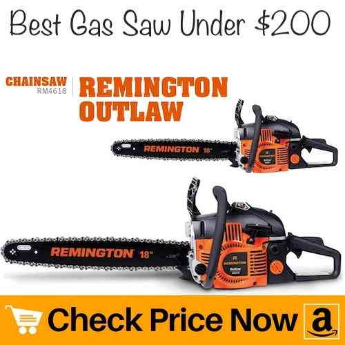 Remington RM4618 Outlaw 46cc 18-inch Gas Chainsaw