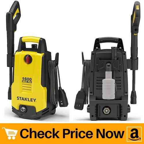 Stanley SHP1600 Electric Pressure Washer with Vari-Spray Nozzle