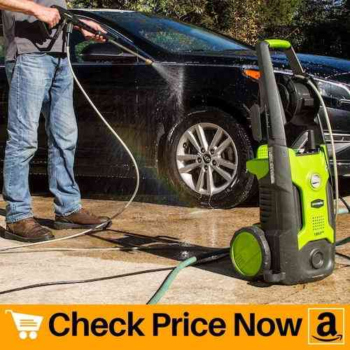 Greenworks Pressure Washer with Hose Reel
