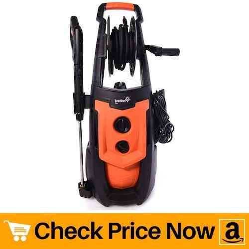 Ivation Electric Pressure Washer with Power Hose