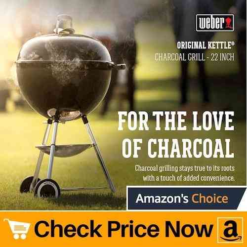 Weber 22-Inch Charcoal Grill