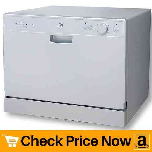 SPT SD-2202S Countertop Dishwasher with Delay Start