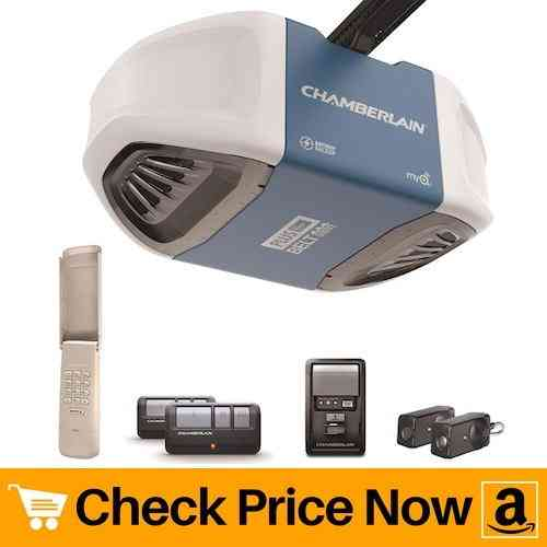 Chamberlain B730 Ultra-Quiet & Strong Belt Drive Garage Door Opener