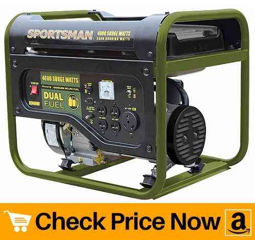 Sportsman GEN4000DF Dual Fuel Powered Portable Generator