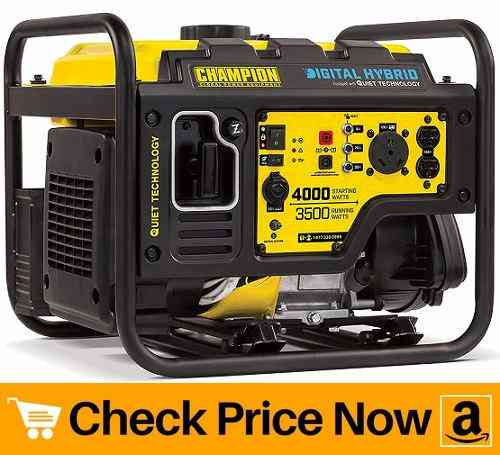 Champion 4000-Watt Digital Hybrid Generator