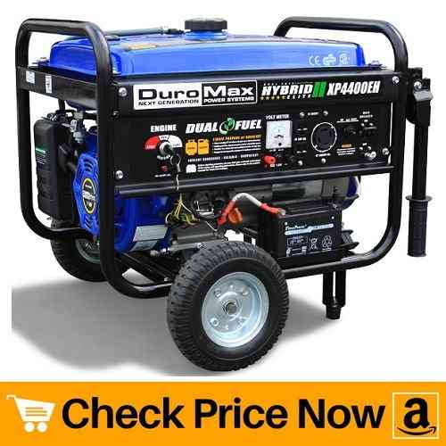 DuroMax XP4400EH - Compact Dual Fuel Portable Generator