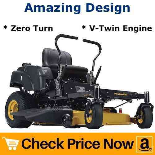 Poulan Pro P46ZX Cutting Deck Zero Turn Radius Riding Mower