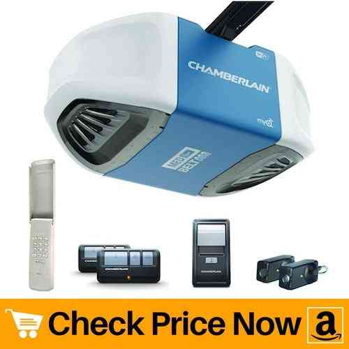 Chamberlain B550 Smartphone-Controlled Ultra-Quiet Garage Door Opener