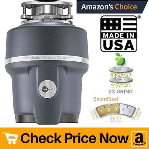 InSinkErator Evolution Compact 3:4 HP Household Garbage Disposal