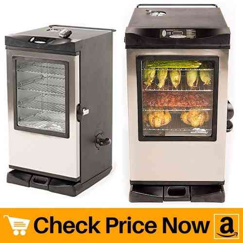Masterbuilt 20077515 Front Controller Electric Smoker with Window