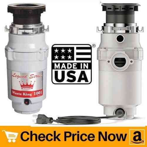 Waste King Legend Series Garbage Disposal with Power Cord