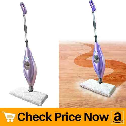 Shark Steam Pocket Mop Hard Floor Cleaner with Swivel Steering XL Water Tank
