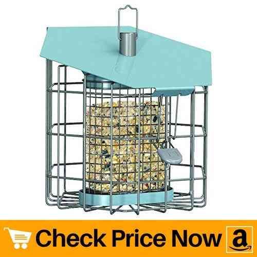 The Nuttery NC001 Hexihaus Compact Suet Bird Feeder