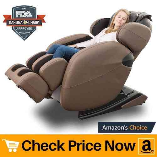 Zero Gravity Full-Body Kahuna Massage Chair Recliner LM6800 with Yoga & Heating Therapy