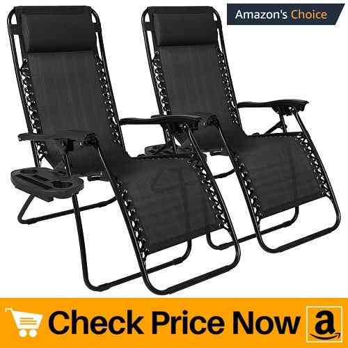Best Choice Products Set of 2 Adjustable Zero Gravity Lounge Chair Recliners for Patio Review