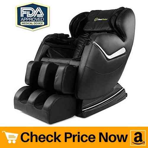 Real Relax Best Zero Gravity Massage Chair Affordable Shiatsu Electric Chair with Heat