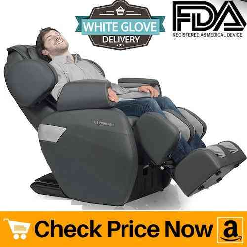 RelaxONChair MK-II PLUS Review - Full Body Zero Gravity Shiatsu Massage Chair with Built-In Heat and Air Massage System