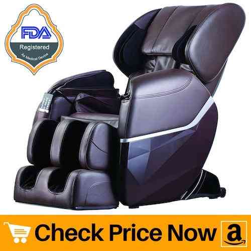 New Electric Full Body Shiatsu Massage Chair Recliner Zero Gravity w:Heat By BestMassage
