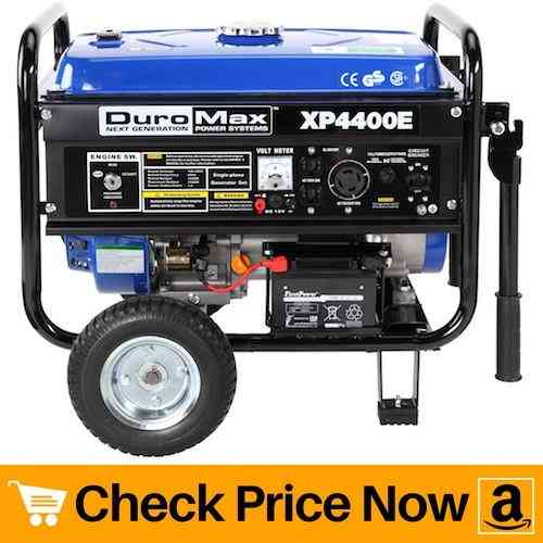 DuroMax-XP4400E-4400-Watt-7.0-HP-OHV-4-Cycle-Gas-Powered-Portable-Generator