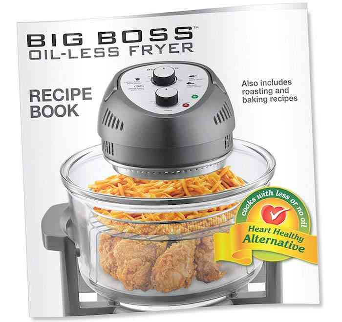 Big Boss Air Fryer Recipes Book