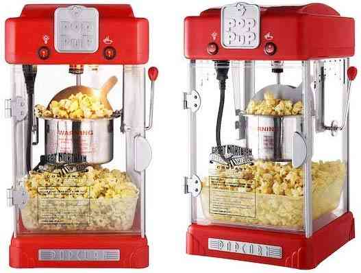 6074 Great Northern Popcorn Machine Pop Pup Retro Style Popcorn Popper 2.5oz