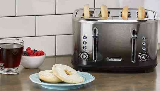 BLACK+DECKER 4-Slice Extra-Wide Slot Toaster Review Stainless Steel