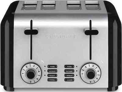 Cuisinart CPT-340 Compact Stainless 4-Slice Toaster