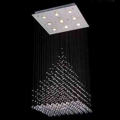 Flush Mount LED Chandelier For Home