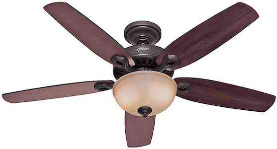 Hunter Fan Company 53091 Hunter ceiling fan, Cherry-Stained Oak