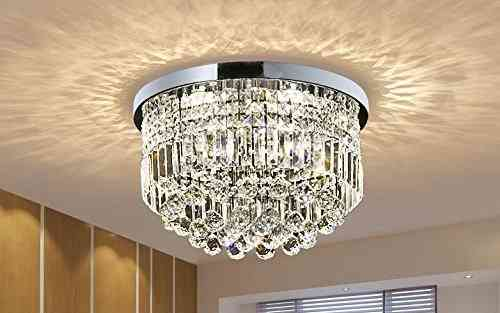 Modern K9 Crystal Raindrop LED Chandelier Lighting