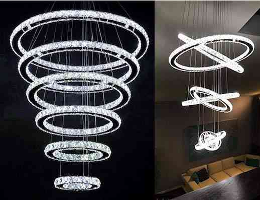 Modern LED Crystal Chandelier Lighting