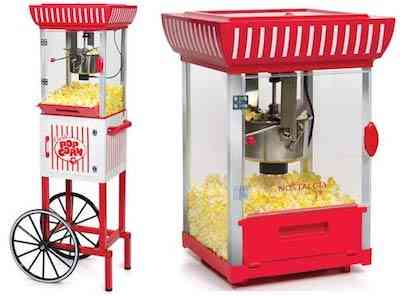 Nostalgia CCP399 2.5 Ounce Popcorn Cart 48 Inches Tall