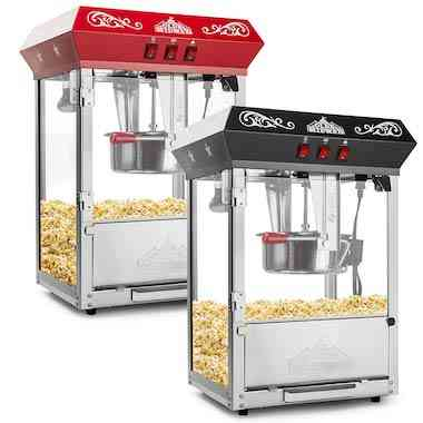 Olde Midway Bar Style Popcorn Machine Maker Popper with 8 Ounce Kettle