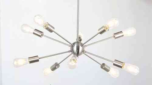 Sputnik 10 LED Lamp Chandelier