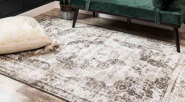 Unique Loom 3134095 Sofia Collection Traditional Vintage Beige Area Rug, 9 x 12 Rectangle