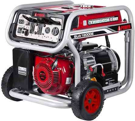 A-iPower SUA12000E 12,000-Watt Gasoline Powered home Generator with Electric Start
