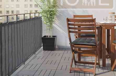 Balcony Privacy Screen Cover – Heavy Duty 210 GSM, UV and Weather Resistant