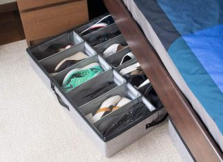 Best Under Bed Shoe Storage Organizer