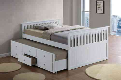 Broyhill Kids Marco Island Captain's twin bed with trundle for kids
