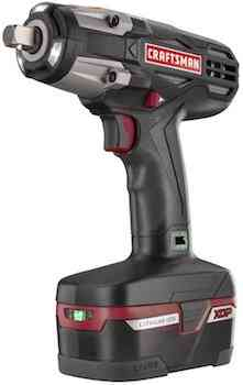 Craftsman C3 1/2 Heavy Duty Impact Wrench Kit Powered By 4ah XCP Cordless Tools High Torque