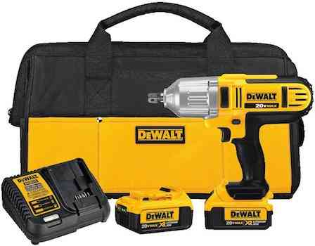 DEWALT DCF889M2 20-volt MAX Lithium Ion 1:2-Inch High Torque Impact Wrench with Detent Pin