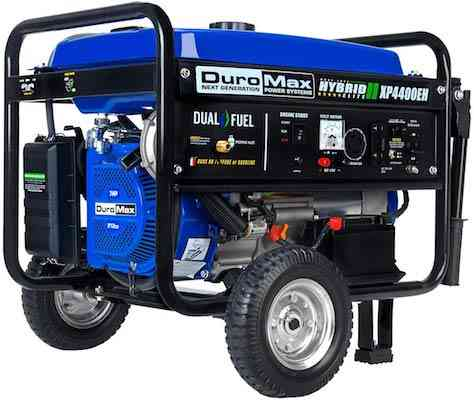 DuroMax Hybrid Dual Fuel XP4400EH Home Backup Generator