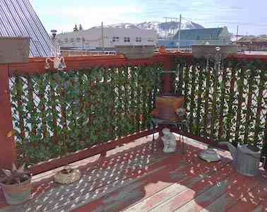 Expandable Fence Privacy Screen for Balcony Patio Outdoor,Decorative Faux Ivy Fencing Panel,Artificial Hedges (Single Sided Leaves)