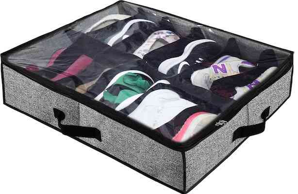 Homyfort Under Bed Shoe Storage Organizer for Closet