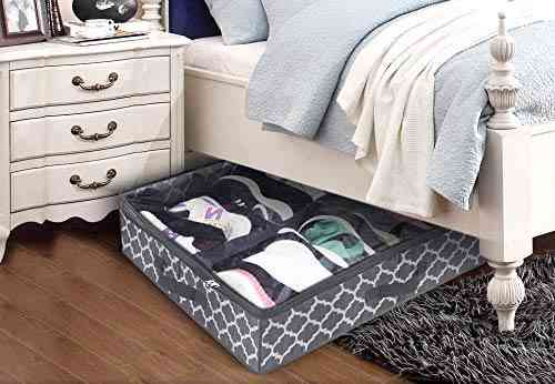 Homyfort Under The Bed Shoe Storage Organizer for Closet Solution